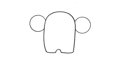 用数字9画大象简笔画简单又可爱