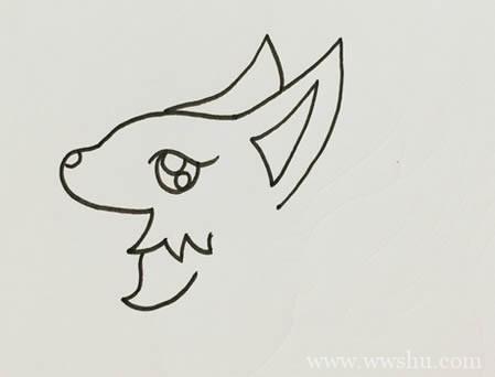 九尾狐简笔画如何画简单又漂亮