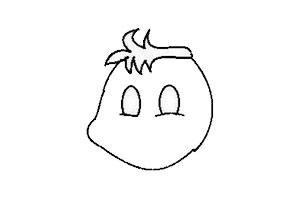 卡通兔子简笔画如何画简单好画