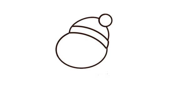 彩色卡通小熊简笔画步骤画法教程_简笔画小熊的画法