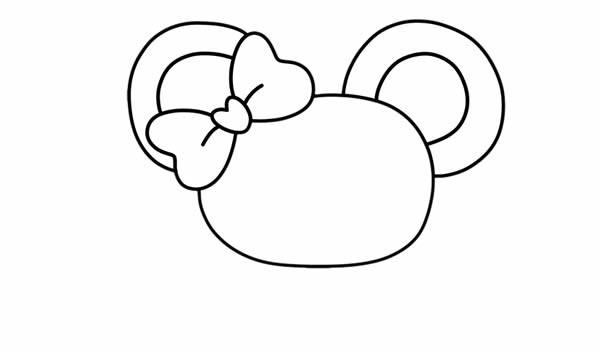 迎新年可爱小老鼠喜提灯笼简笔画_鼠年简笔画