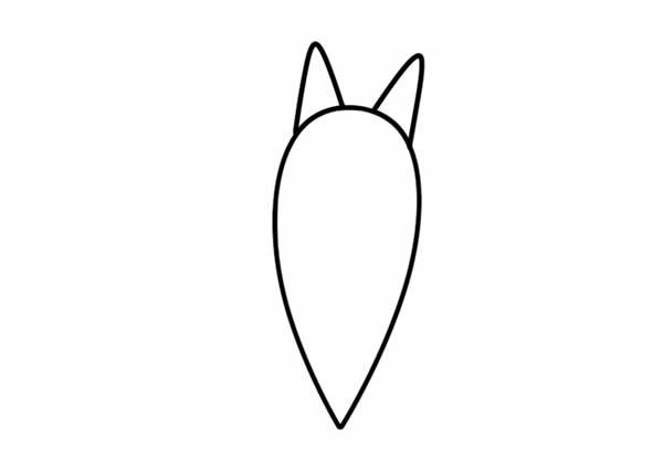 蝙蝠简笔画_卡通蝙蝠彩色画法步骤图片教程