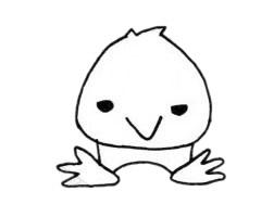 超简单的老鹰简笔画步骤图片大全