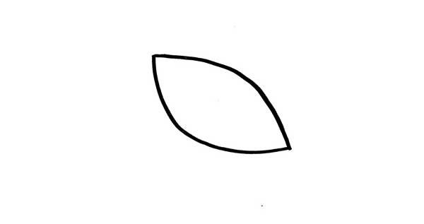 幼儿园小鸟简笔画步骤教程_一只小鸟的超简单画法