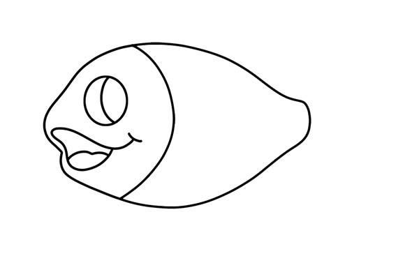 可爱的小丑鱼如何画 彩色小丑鱼简笔画步骤图解教程