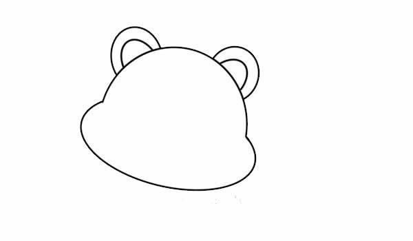 老虎简笔画可爱又简单 卡通老虎简笔画步骤图解教程
