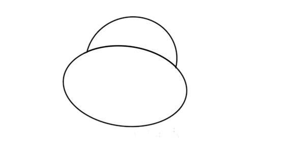 卡通河马简笔画简单又可爱 卡通河马简笔画步骤图解教程