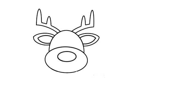 驯鹿如何画简单又漂亮 驯鹿简笔画步骤画法教程