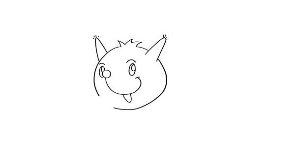 小松鼠如何画简单又可爱 卡通松鼠简笔画教程