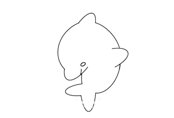 海豚如何画又简单又漂亮又可爱 海豚简笔画步骤图解教程