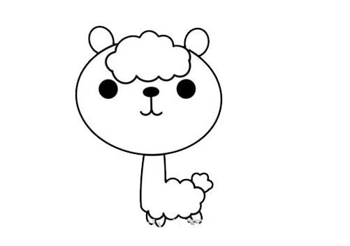 可爱羊驼如何画简单又漂亮 羊驼简笔画步骤图解教程