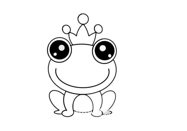青蛙王子如何画简笔画简单又漂亮