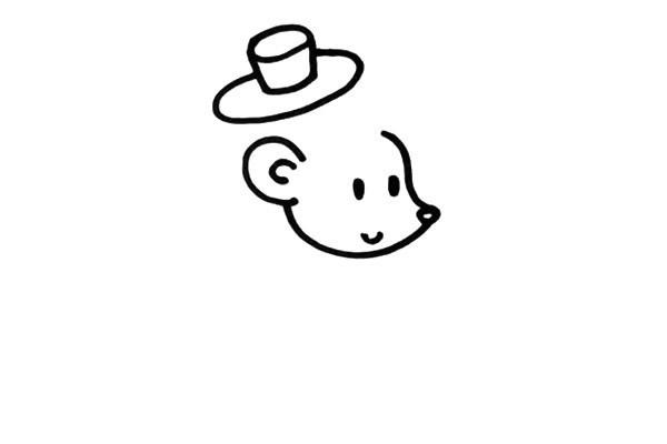 卡通刺猬如何画 刺猬先生简笔画彩色画法步骤图文教程