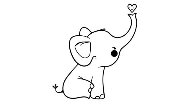 8款可爱的动物简笔画图片素材大全
