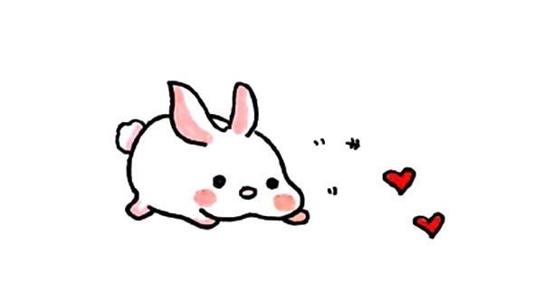 卡通小兔子简笔画图片大全
