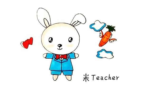 爱吃胡萝卜的小兔子简笔画教程步骤图片大全