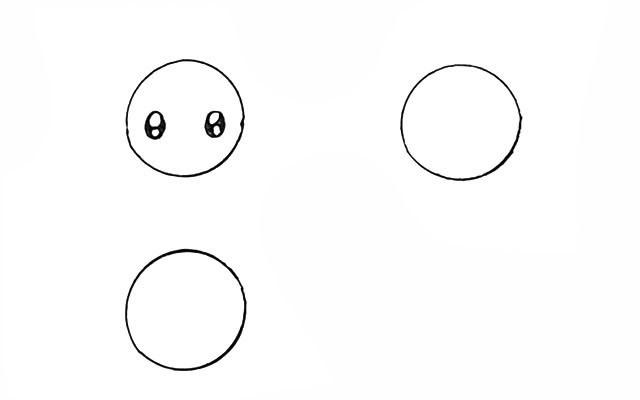 用圆形画海洋动物 海洋动物简笔画画法步骤教程