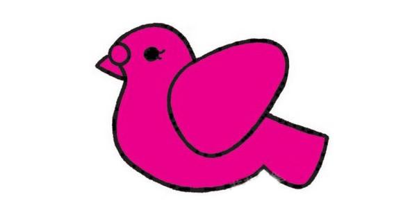如何画鸽子 鸽子简笔画画法步骤教程