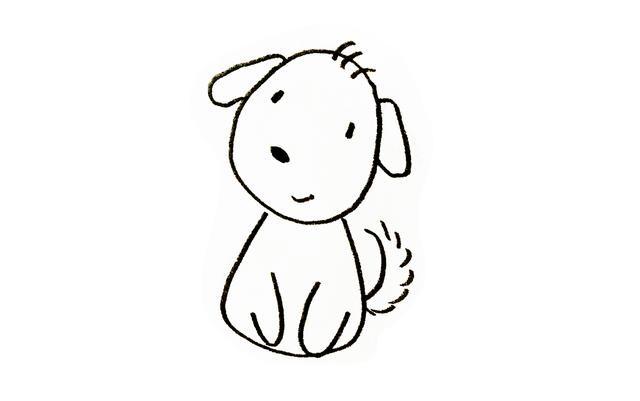 8种常见小动物简笔画图片大全