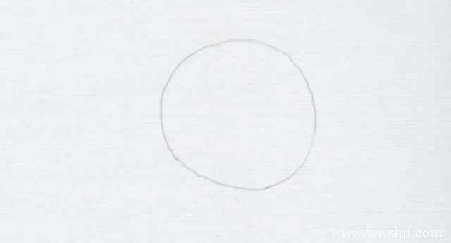 大熊猫简笔画的画法步骤图解教程