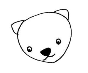 超简单的貂简笔画步骤画法及图片大全