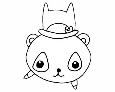 懒猴简笔画_超简单的懒猴简笔画步骤画法教程