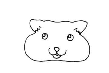 可爱的龙猫简笔画步骤画法及图片大全