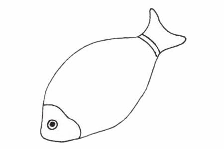 超简单的深海鱼步骤画法教程