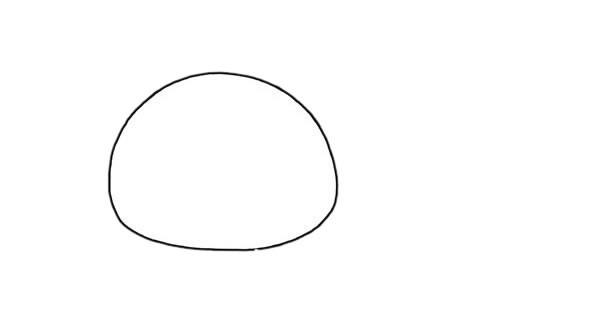可爱的小猪简笔画步骤画法图片教程