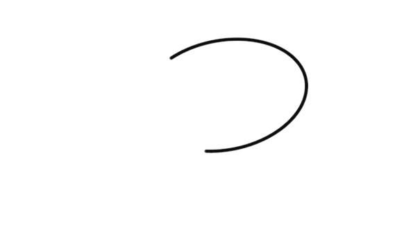长颈鹿简笔画步骤画法图解教程