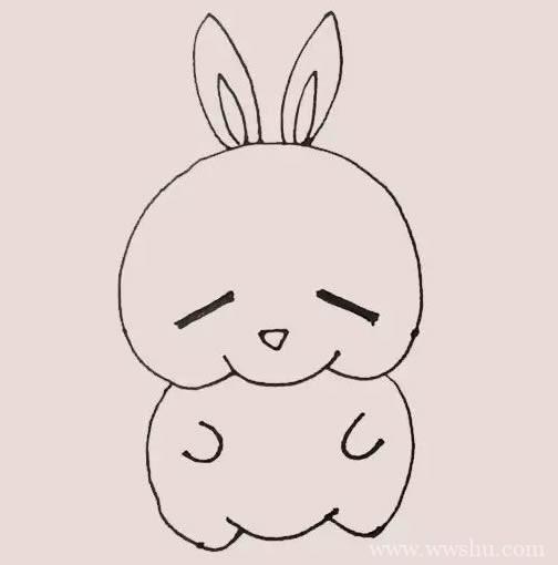 流氓兔如何画 流氓兔简笔画步骤画法图解教程