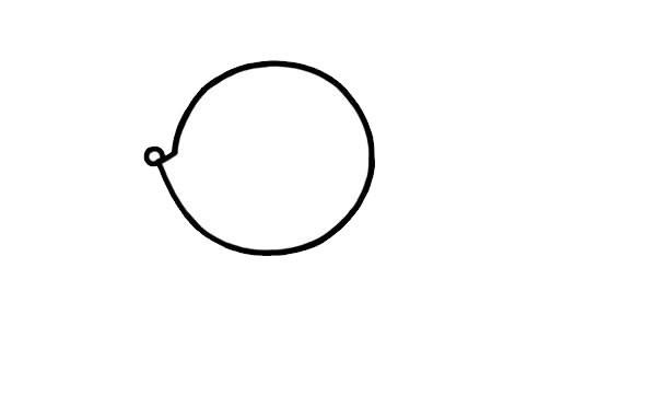松鼠如何画简单又可爱 松鼠简笔画步骤画法
