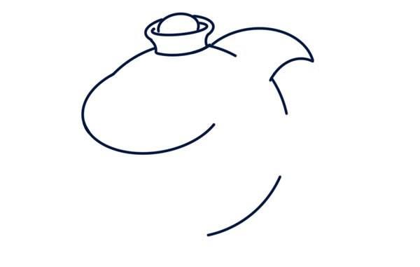 卡通鲨鱼如何画_卡通鲨鱼简笔画画法步骤图片