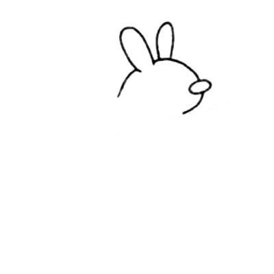【可爱袋鼠简笔画】可爱彩色袋鼠简笔画的画法步骤教程
