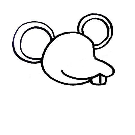 【卡通老鼠简笔画彩色】如何画卡通老鼠简笔画的画法步骤教程