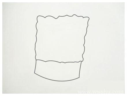 【海绵宝宝简笔画】幼儿学画海绵宝宝简笔画的画法步骤教程