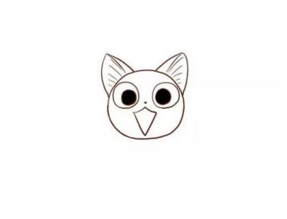 【起司猫简笔画】起司猫简笔画的画法步骤教程