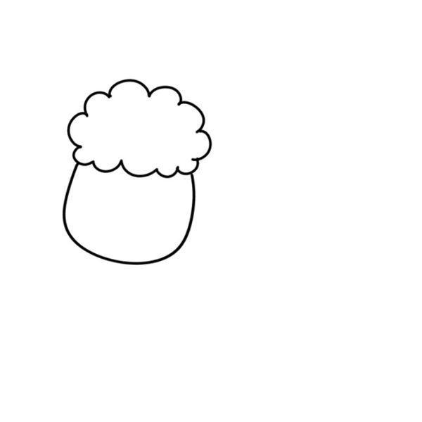 【可爱小绵羊简笔画】可爱小绵羊简笔画步骤图解教程
