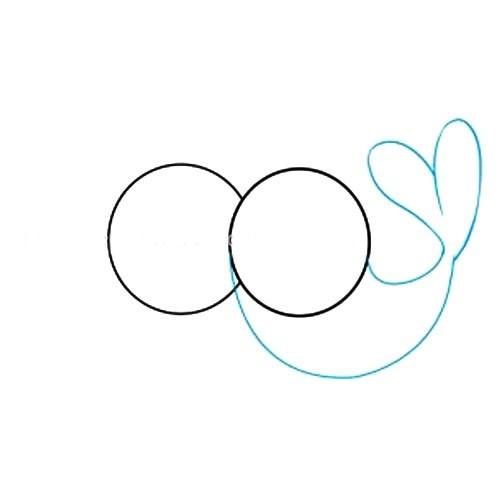 【爱情鸟简笔画教程】代表爱情的小鸟简笔画步骤图片大全