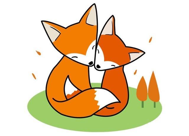 狐狸的简笔画图片及步骤图解