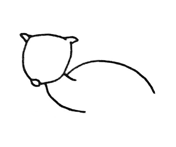 儿童学画羚羊简笔画步骤图解教程 羚羊如何画
