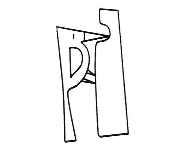 6款啄木鸟简笔画图片 啄木鸟的简单画法大全