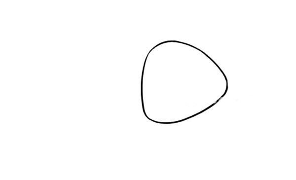 可爱的燕子简笔画步骤教程 卡通燕子的简单画法