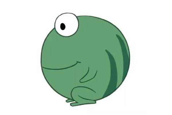 【青蛙简笔画】三款可爱的卡通青蛙简笔画图片
