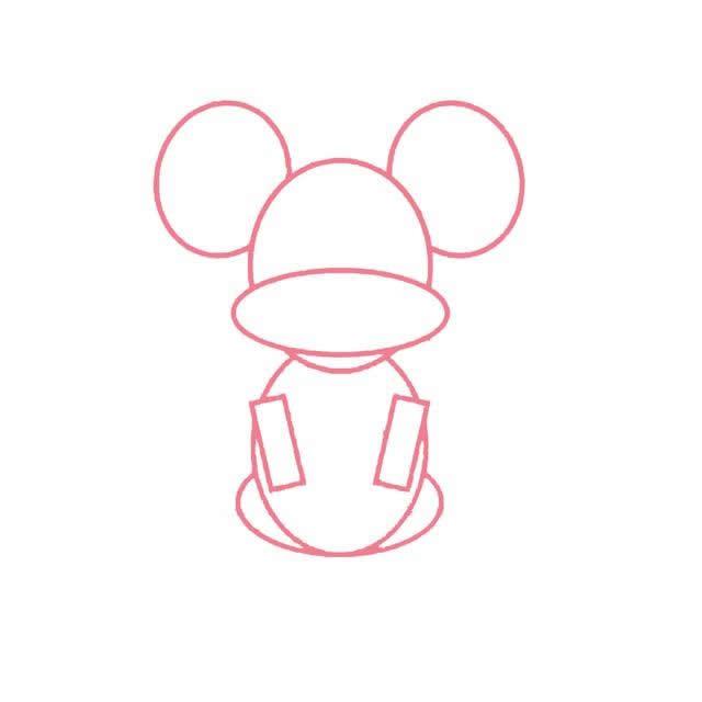 简单五步教你画小老鼠简笔画