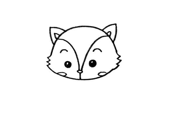 可爱的卡通小松鼠简单画法 一步步教儿童学画